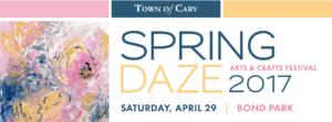 SPRING DAZE ARTS AND CRAFTS FESTIVAL @ Fred G. Bond Metro Park