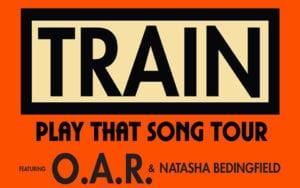 TRAIN @ Coastal Credit Union Music Park at Walnut Creek