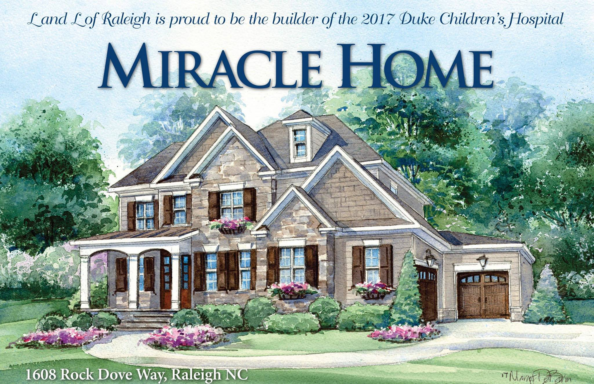 Miracle Home Illustration