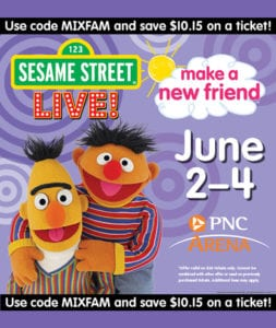 Sesame St. Live @ The PNC Arena
