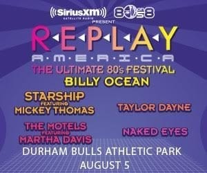 CANCELLED: Replay America - Ultimate 80s Festival @ DBAP