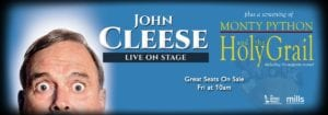 Comedian John Cleese — Conversation and Q&A @ Durham Performing Arts Center