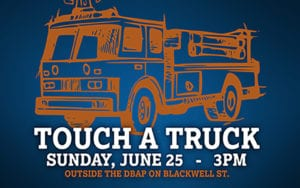 Touch A Truck at Durham Bulls @ Durham Bulls Athletic Park