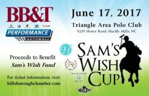 Sam's Wish Cup Polo Charity Classic @ Triangle Area Polo Club