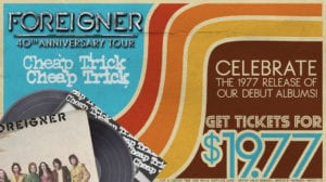 Foreigner w/ Cheap Trick and Jason Bonham's Led Zeppelin Experience @ Coastal Credit Union Music Park at Walnut Creek