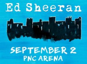 Ed Sheeran @ PNC Arena
