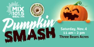 The 2nd Annual Great Pumpkin Smash @ Three Bears Acres