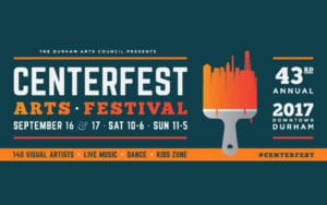 2017 CenterFest Arts Festival @ Downtown Durham, Triangle Area, North Carolina