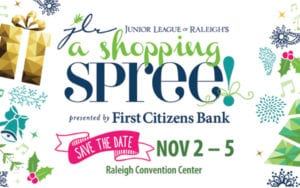 Junior League of Raleigh's Shopping SPREE @ Raleigh Convention Center