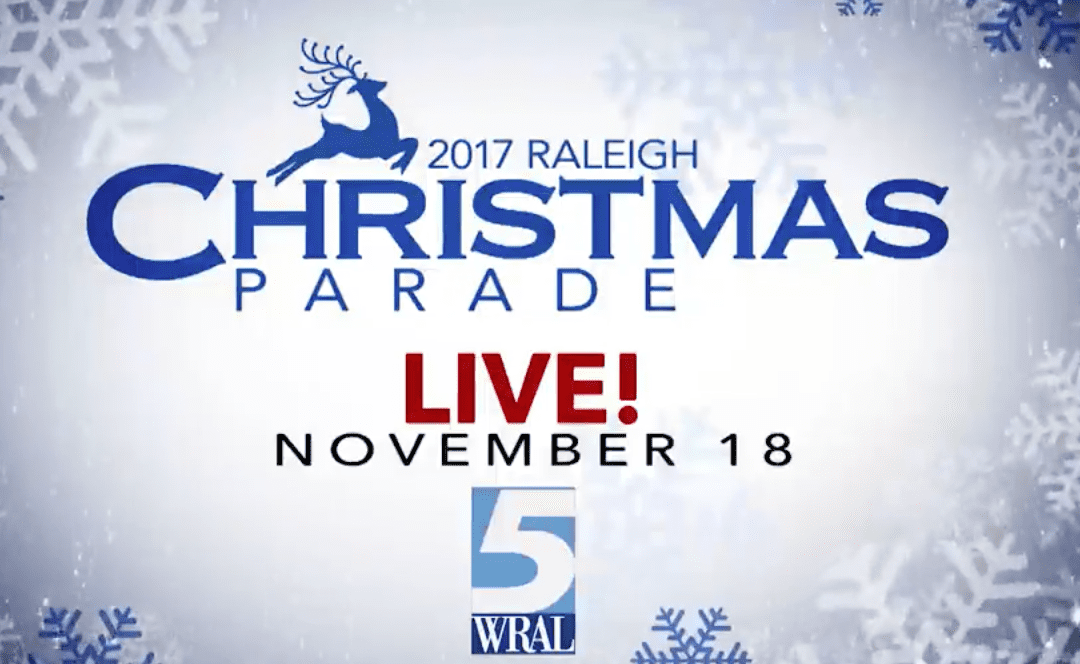 Raleigh Christmas Parade 2017