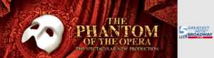 Andrew Lloyd Webber's THE PHANTOM OF THE OPERA at the DPAC @ Durham Performing Arts Center