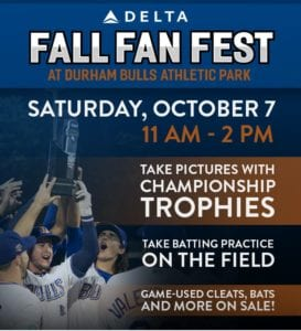 Durham Bulls Fall Fan Fest @ Durham Bulls Athletic Park