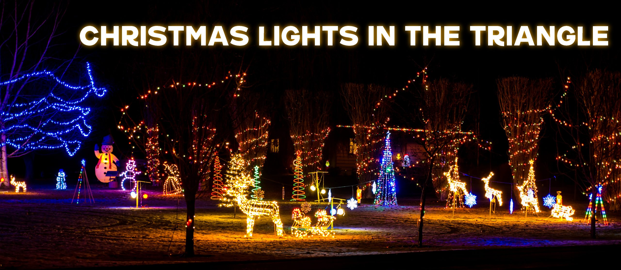 Christmas Lights In The Triangle Mix 101 5
