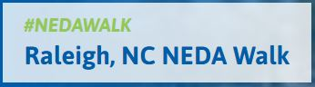 Raleigh National Eating Disorders Association Walk @ Pullen Park - Shelters 3 & 4