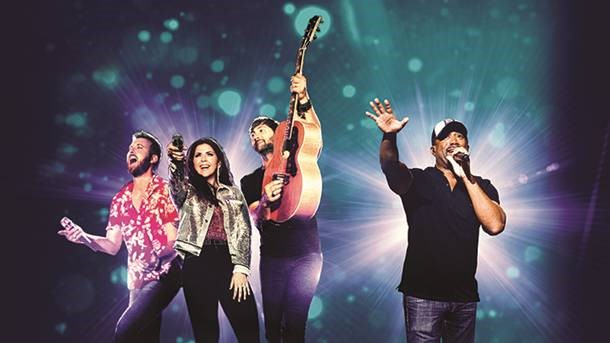 LADY ANTEBELLUM + DARIUS RUCKER @ Coastal Credit Union Music Park at Walnut Creek