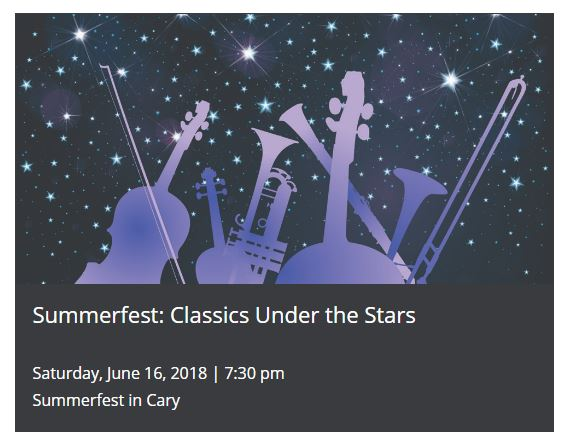 SUMMERFEST CLASSIC UNDER THE STARS @ Booth Amphitheatre