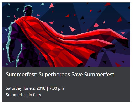SUMMERFEST: SUPERHEROES SAVE SUMMERFEST @ Booth Amphitheatre