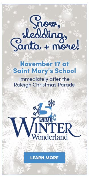 WRAL WINTER WONDERLAND @ Saint Mary's School | Raleigh | North Carolina | United States